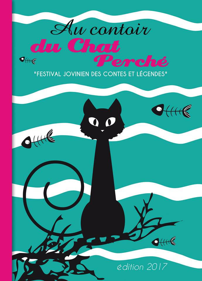 affiche contoir du chat perché